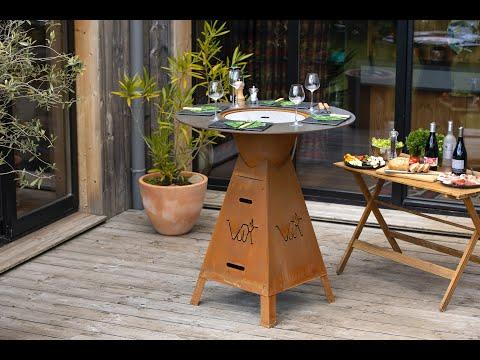 Vulx Magma plancha table