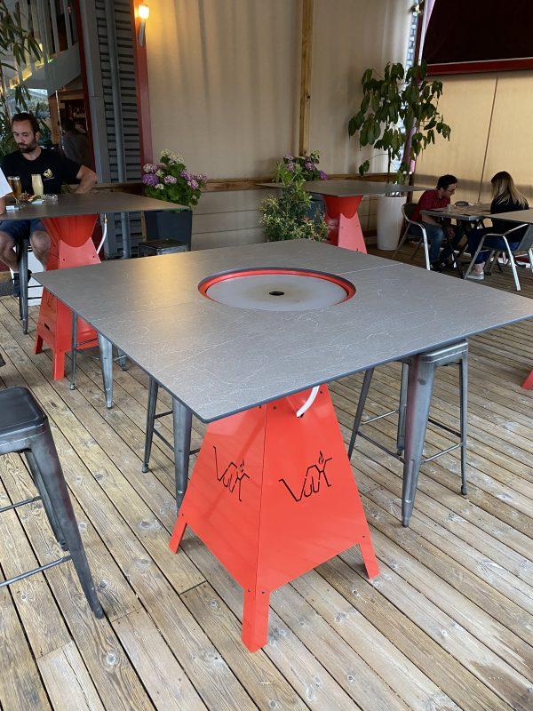 table bbq magma